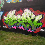 Kto je to Mezk: Mezk graffiti