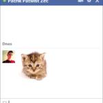 Ako spraviť vlastný obrázok do Facebook chatu