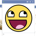 Facebook smajlíci do FB chatu