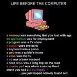 Život pred počítačmi