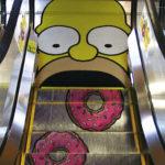 Kreatívny eskalátor Simpsonovci