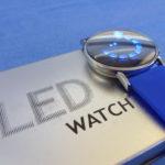 Zrkadlové LED hodinky