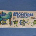 Monsters University nálepky, môj prvý nákup cez Ebay