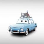Ako by vyzerali Staré Škodovky v rozprávke Autá od Disney Pixar