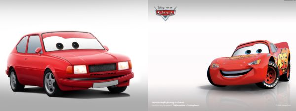 Škoda 743 (Rapid) vs McQueen