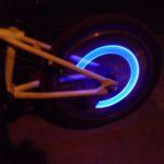 LED svetlá na bicykel alebo auto