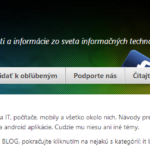 Scrollbar – posuvník pre WordPress