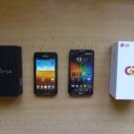 Z Galaxy S2 na LG G2
