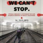 Sorry, we cant stop graffiti výstava