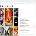 Ako stiahnuť chránené obrázky