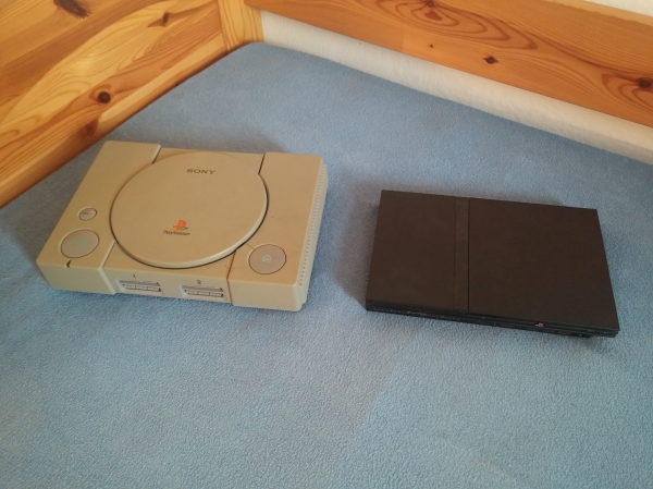 PlayStation 1 vs PlayStation 2