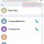 Ako na správne zobrazovanie kontaktov na Androide