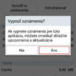 Ako vypnúť notifikácie hier a aplikácií na Androide
