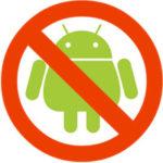 Ako zakázať aplikácie na Androide