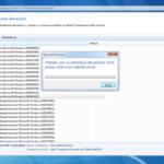Windows update Ako odinštalovať aktualizácie