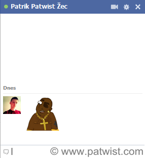 Facebook chat smiley Pišta Lakatoš