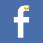 Facebook icon smile